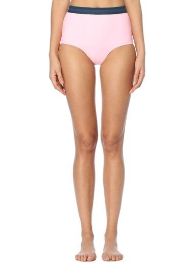 Rye Yüksek Bel Bikini Altı Pembe